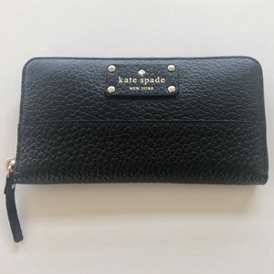 kate spade NY - Pebbled Leather Continental Wallet